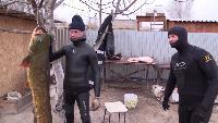 Alexander Kondrashov Все видео Астраханские будни #8 - подводная охота. Трофейный сом. Взвешивание. Разделка Сома. Баня.