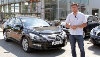 Антон Воротников Автомобили класса E Автомобили класса E - Nissan Teana (2014) Тест-драйв.