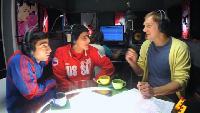 Даёшь молодёжь! Борцы Тамик и Радик Интервью на радио