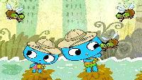 Котики Вперёд! ПУТЕШЕСТВИЕ - Детский развивающий интерактивный мультфильм