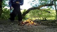 KREOSAN Все видео В костре взорвался баллон