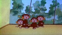 Обезьянки, вперед Сезон 1 Как обезьянки обедали
