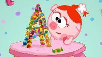 Смешарики Сезон-1 Серия 33. Горы и конфеты