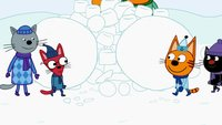 Три кота 3 сезон 115 серия. Снежная битва