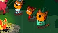 Три кота 3 сезон 117 серия. Лесные котики