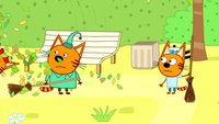 Три кота 3 сезон 137 серия. Мусор в парке