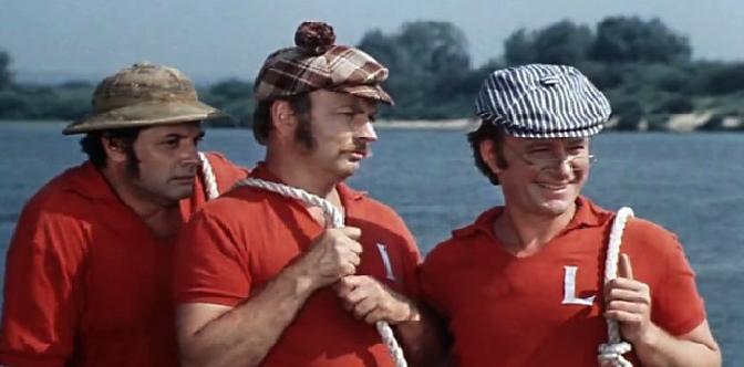 Смотреть Трое в лодке, не считая собаки бесплатно