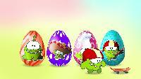 Учим английский с Ам Нямом Сезон-1 Яйца с сюрпризами