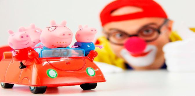 фильм с игрушками свинка пеппа на английском языке