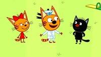 Три кота 3 сезон 143 серия. Каратисты